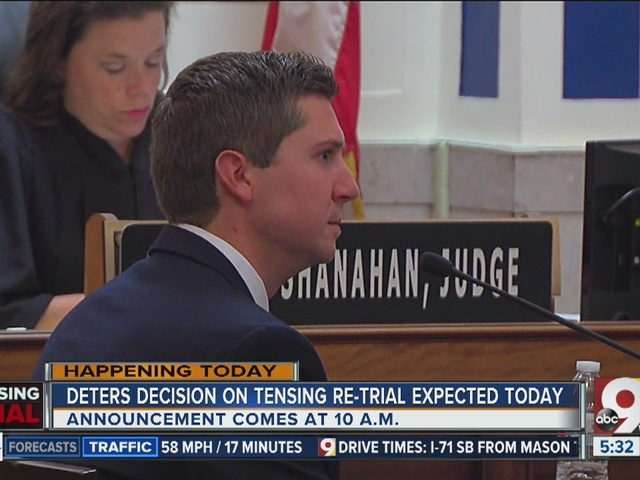 Deters' decision on Ray Tensing re-trial expected today