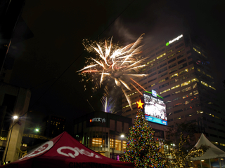 Macy's Light Up the Square 2016