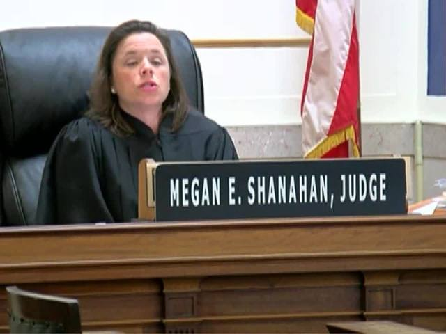 Judge Megan Shanahan removes self from Tensing trial
