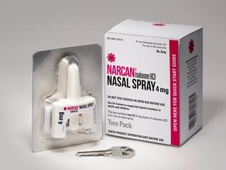 Narcan nasal spray price frozen -- for now