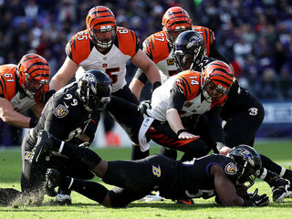 WATCH: Who's to blame, Dalton or the O-line?