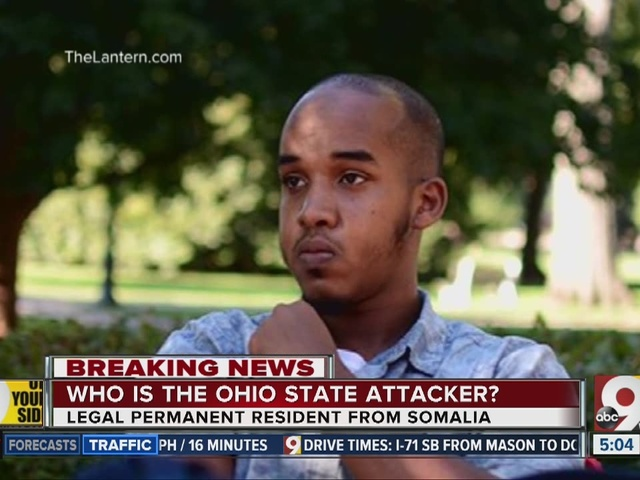Who is the Ohio State attacker?