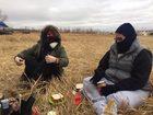 NKU student protests Dakota Access Pipeline