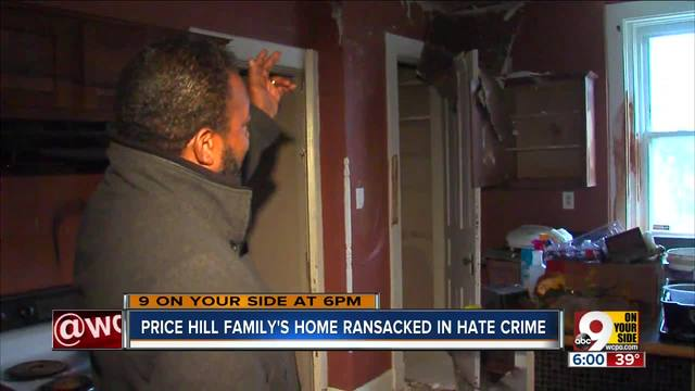 Price Hill family-s home ransacked in hate crime