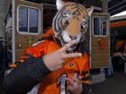 PHOTOS: Bengals fans tailgate before Eagles game