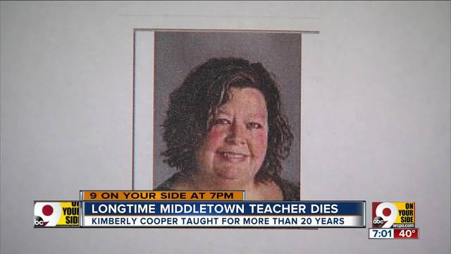 Longtime Middletown teacher Kimberly Cooper dies
