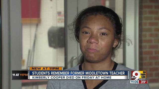 Middletown schools remember Kimberly Cooper