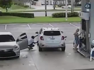 Police warn of gas station thieves