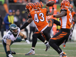 Bengals defense picking up the slack