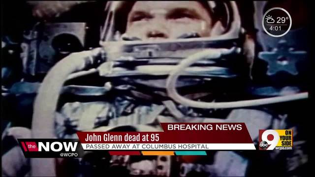 American hero John Glenn dies at 95