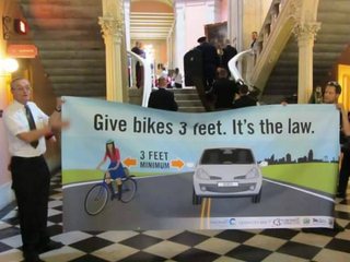 3-foot bike law goes into effect Tuesday