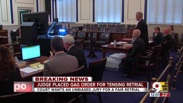 Judge issues gag order in Ray Tensing retrial