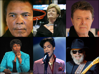 GALLERY: These are the celebs we lost in 2016
