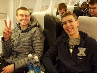 A look inside a Xavier basketball road trip