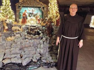 Friar displays creative nativities at Moerlein