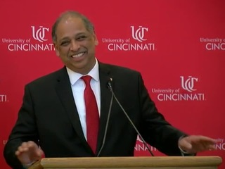 UC's new president a dedicated Bearcat