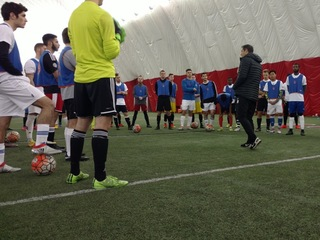 Dozens try out for spot with FC Cincinnati