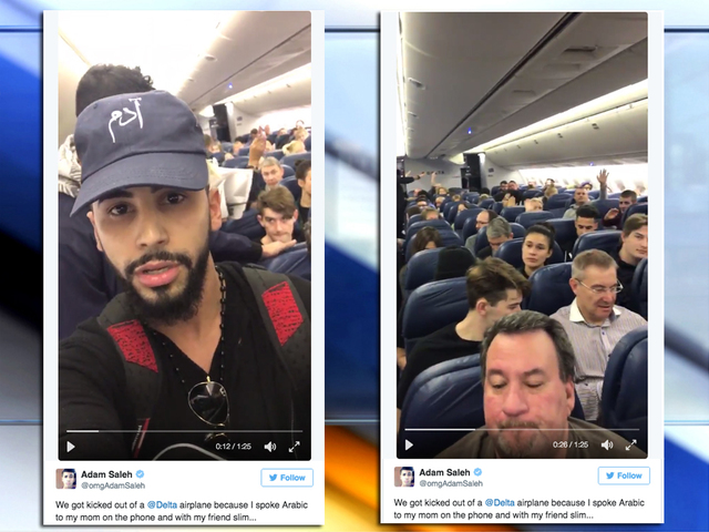 Adam saleh video delta kicks arab man and youtube personality from adam saleh video delta kicks arab man and youtube personality from plane after complaints nbc26 wgba tv green bay wi m4hsunfo