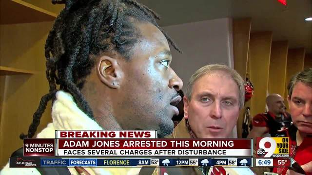Adam 'Pacman' Jones Arrested, Charged With Three Misdemeanors, Felony