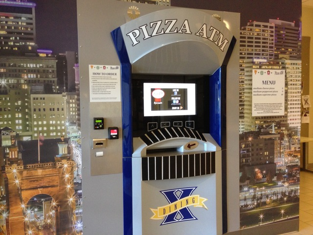 It S Conquered Xavier University Now Pizza Atm Is Ready To Take The Continent Insider Story