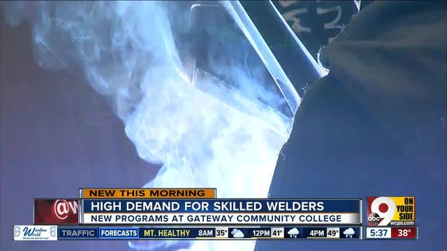 Gateway Community And Technical College Offers 6 New Welding