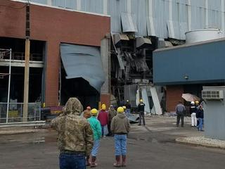 6 injured in Adams County power station blast