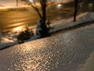 Why a forecast of freezing rain and not snow?