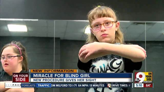 Family raising money to get high-tech glasses for girl who is legally blind