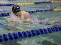 Mason Manta Rays swimmer highlighted on TV