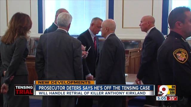 Prosecutor Deters no longer on Ray Tensing case