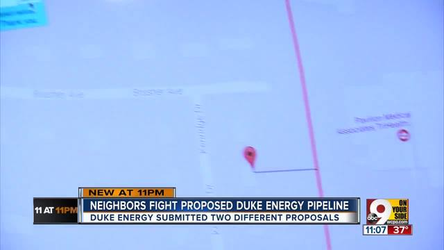 Neighbors continue to fight Duke Energy pipeline