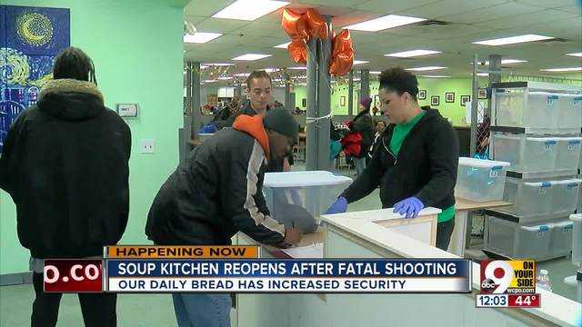 Over The Rhine Soup Kitchen Reopens A Week After Fatal Shooting