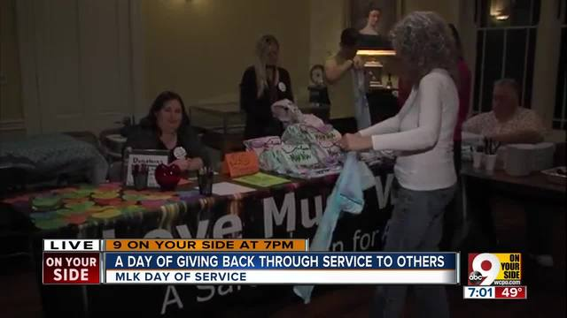 A day of giving back through service to others