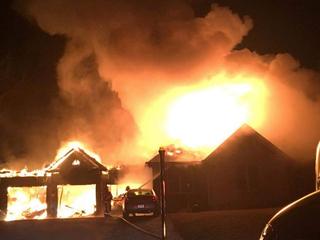 Morgan Township family's home burns down again