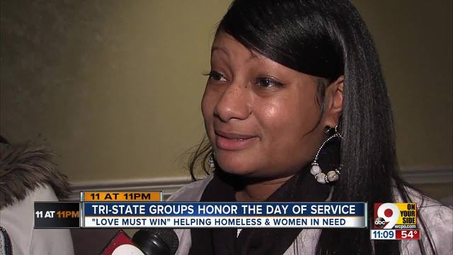 Tri-State groups spend MLK Day serving other