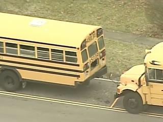3 school buses crash; 12 students, driver hurt
