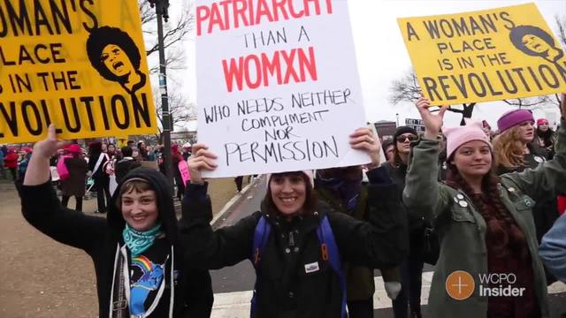 Cincinnati protesters head to Women-s March on Washington