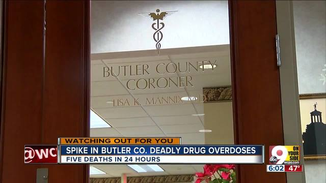 Spike in Butler Co- deadly drug overdoses