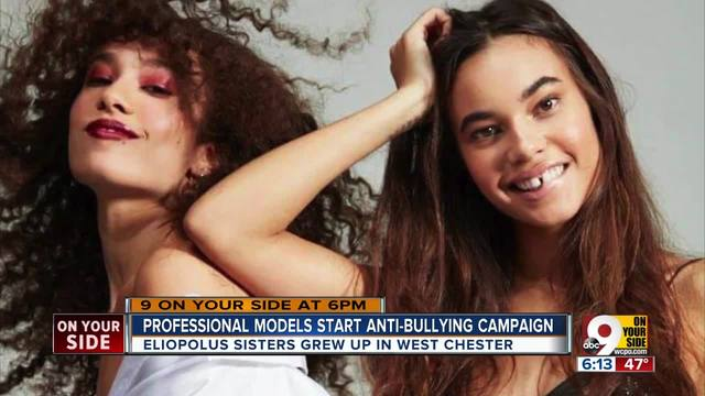 Model sisters start anti-bullying campaign