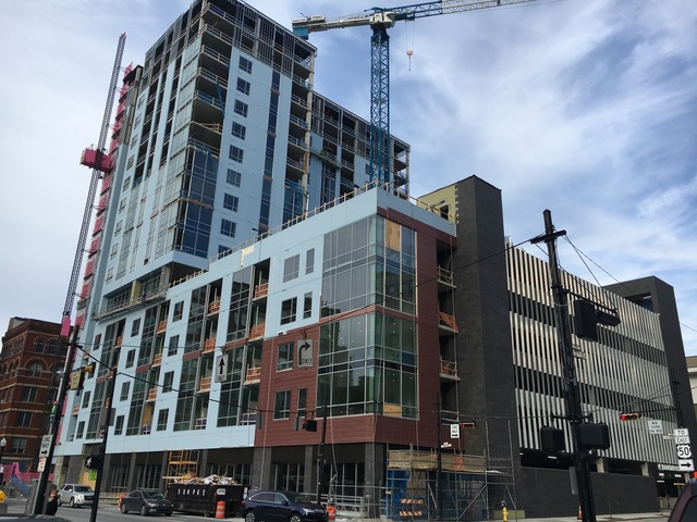 Workers claim wage theft at Downtown project