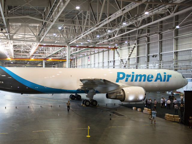 Amazon to Invest $1.49 Billion in Air Cargo Hub