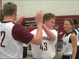 Eighth-grader with autism steps onto the court