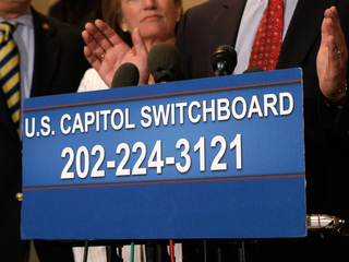 Trying to call Congress? Sorry, it's busy