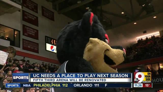 UC needs a place to play next season