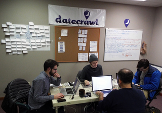 No plans for Valentine's Day? Datecrawl can help