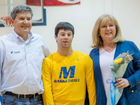 Mariemont student-manager hits nothing but net