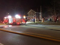 Highland Heights home burns overnight
