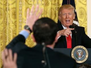 Column: Trump's 'fake news' claim is a lie
