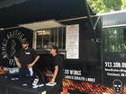 Warm weather extends season for food trucks