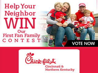 Vote for the Chick-fil-A First Fan Family
